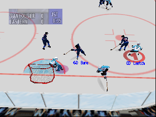 NHL Breakaway 98 (USA) In game screenshot