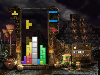 New Tetris, The (Europe) In game screenshot