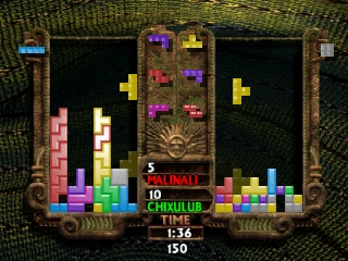 New Tetris, The (USA) In game screenshot