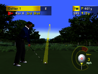 PGA European Tour (USA) In game screenshot