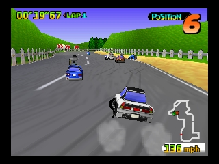 Penny Racers (USA) In game screenshot