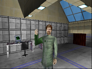Perfect Dark (Europe) (En,Fr,De,Es,It) In game screenshot