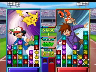 Pokemon Puzzle League (Europe) In game screenshot