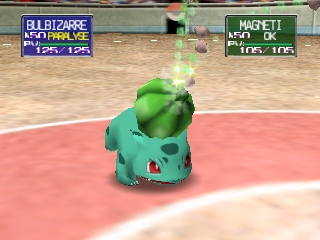 Pokemon Stadium (France) In game screenshot