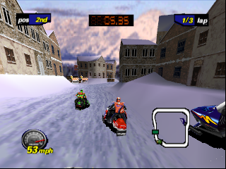 Polaris SnoCross (USA) In game screenshot