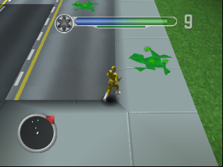 Power Rangers - Lightspeed Rescue (Europe) In game screenshot