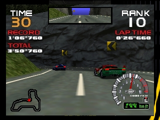 RR64 - Ridge Racer 64 (Europe) In game screenshot