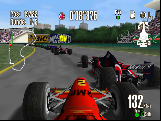 Racing Simulation 2 (Germany) In game screenshot