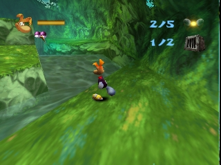 Rayman 2 - The Great Escape (USA) (En,Fr,De,Es,It) In game screenshot