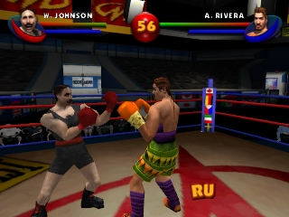 Ready 2 Rumble Boxing - Round 2 (USA) In game screenshot
