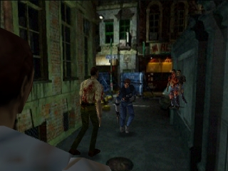 Resident Evil 2 (Europe) (En,Fr) In game screenshot