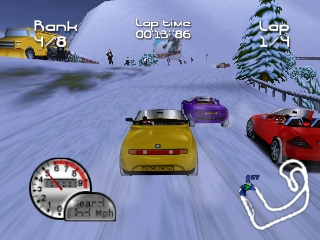 Roadsters Trophy (USA) (En,Fr,Es) In game screenshot