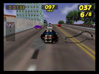 Rush 2 - Extreme Racing USA (USA) In game screenshot