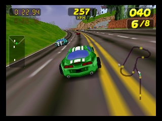 San Francisco Rush - Extreme Racing (Europe) (En,Fr,De) In game screenshot
