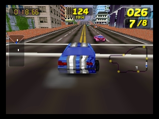 San Francisco Rush - Extreme Racing (USA) (En,Fr,De) In game screenshot