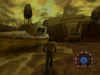 Shadow Man (France) In game screenshot