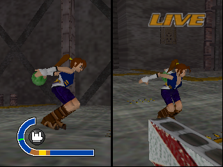Super Bowling (USA) In game screenshot