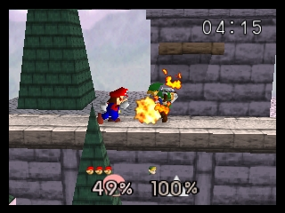 Super Smash Bros. (USA) In game screenshot