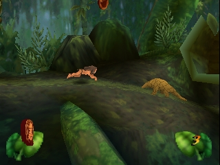 Tarzan (Europe) In game screenshot