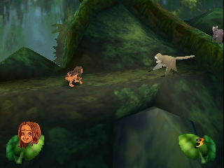 Tarzan (France) In game screenshot