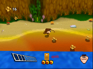 Taz Express (Europe) (En,Fr,De,Es,It,Nl) In game screenshot
