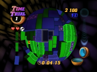 Tetrisphere (USA) In game screenshot