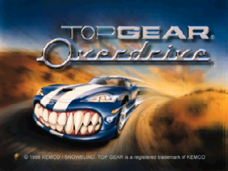 Top gear overdrive usa rom n64 roms emuparadise top gear overdrive usa in game screenshot sciox Image collections