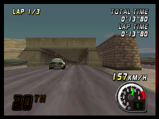 Top Gear Rally (Japan) In game screenshot