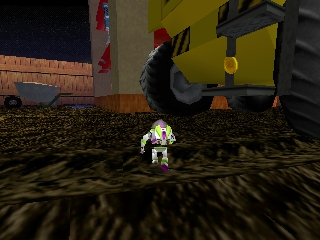 Toy Story 2 (Germany) In game screenshot