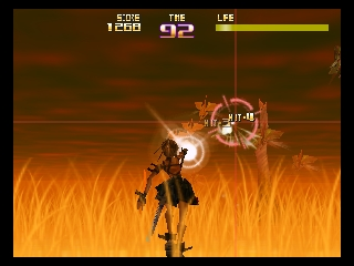 Tsumi to Batsu - Hoshi no Keishousha (Japan) In game screenshot