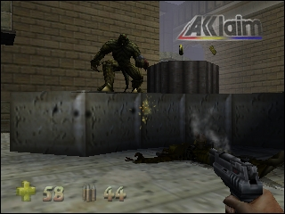 Turok 2 - Seeds of Evil (USA) (Kiosk Demo) In game screenshot