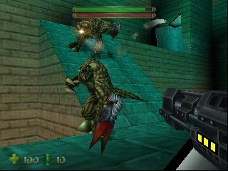Turok 2 - Seeds of Evil (USA) In game screenshot
