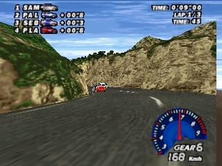 V-Rally Edition 99 (Europe) (En,Fr,De) In game screenshot