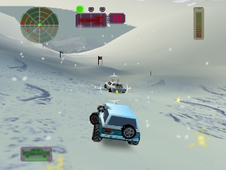 Vigilante 8 (France) In game screenshot