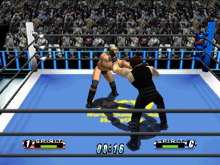 Virtual Pro Wrestling 64 (Japan) In game screenshot