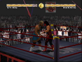WCW Nitro (USA) In game screenshot