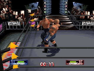 WCW-nWo Revenge (Europe) In game screenshot
