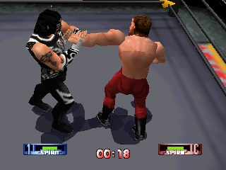 WCW-nWo Revenge (USA) In game screenshot