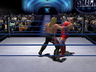 WWF No Mercy (USA) In game screenshot