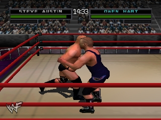 WWF War Zone (Europe) In game screenshot
