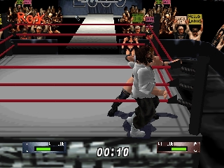 WWF WrestleMania 2000 (Europe) In game screenshot