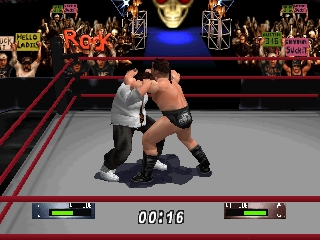 WWF WrestleMania 2000 (USA) In game screenshot