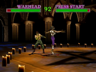 War Gods (Europe) In game screenshot