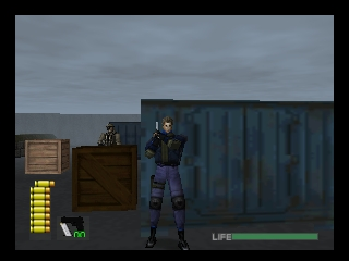WinBack (Japan) In game screenshot