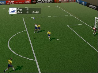 World Cup 98 (Europe) (En,Fr,De,Es,It,Nl,Sv,Da) In game screenshot