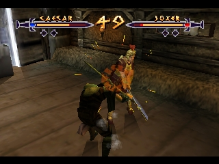 Xena - Warrior Princess - The Talisman of Fate (USA) In game screenshot