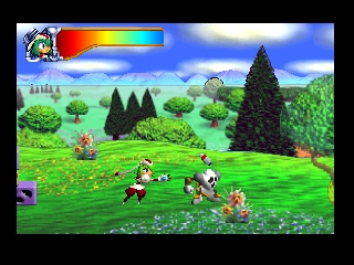 Yuke Yuke!! Trouble Makers (Japan) In game screenshot