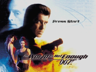 007 - The World Is Not Enough (USA) Title Screen