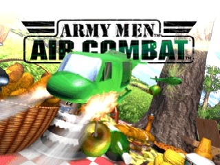 Army Men - Air Combat (USA) Title Screen