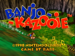 Banjo-Kazooie (USA) Title Screen